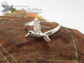 anillos de plata colibri en plata 925 joyas plata