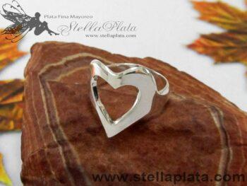 Anillo Corazon Plata 925 joyeria alicia plata taxco mayoreo joyas mercado libre plata mayoreo centro joyero donde comprar plata para vender