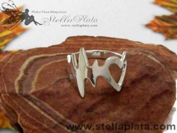 Anillo Cardio Plata 925 distribuidor de mayoreo plata mayoreo alicia plata platerias en taxco joyerias en mexico